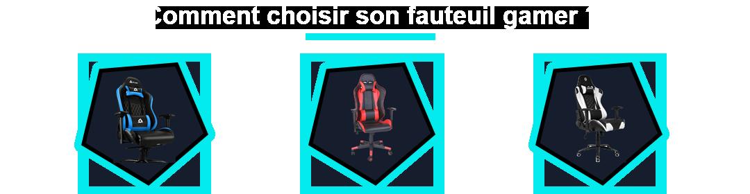 comparatif fauteuil gamer