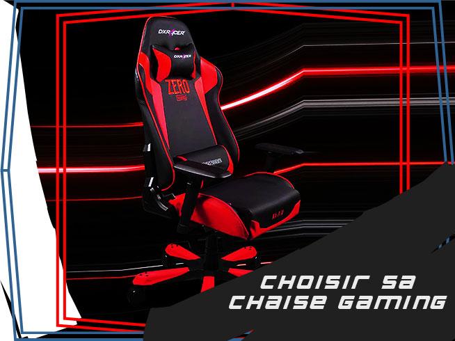 comment choisir un fauteuil gamer ?