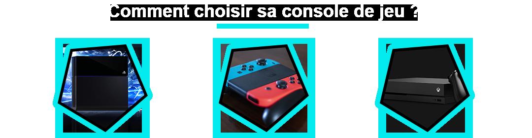 comparatif de la meilleure console de jeu