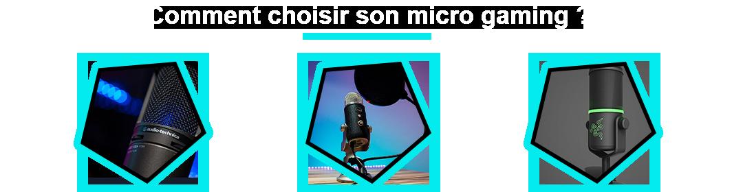 comparatif du meilleur microphone gamer